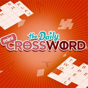 Express's online Mini Crossword game