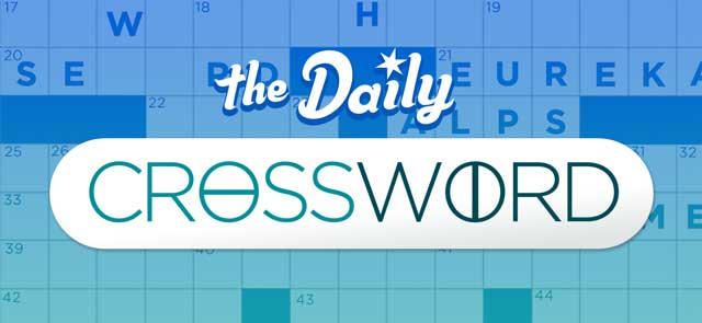 Burton Mail's free Daily Crossword game