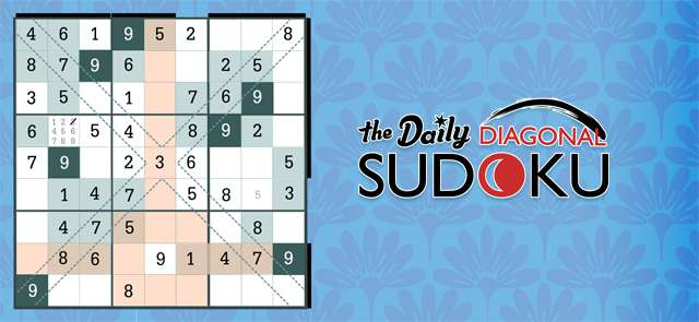 Bowman Extra's free The Daily Diagonal Sudoku game