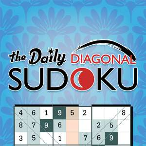 xfinity's online The Daily Diagonal Sudoku game