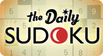 The Daily Sudoku: Put on your Sudoku hat and get ready for a challenging Sudoku puzzle!