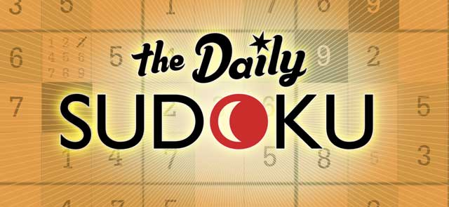 Myrtle Beach's free The Daily Sudoku game