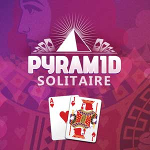Washington Post's online Pyramid Solitaire game