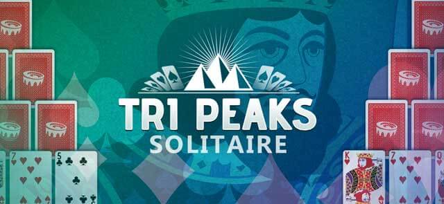 Cavalier County Extra's free Tri-Peaks Solitaire game