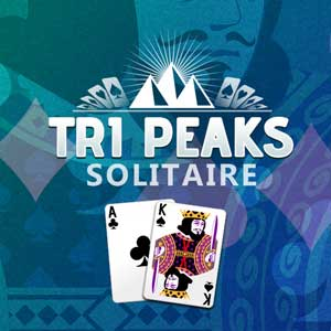 San Diego Union Tribune's online Tri-Peaks Solitaire game