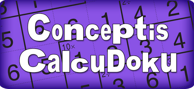greenwich time's free Conceptis Calcudoku game