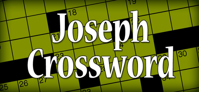 donaldsonvillechief's free Thomas Joseph Crossword game