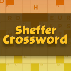 The Advocate's online Sheffer Crossword game