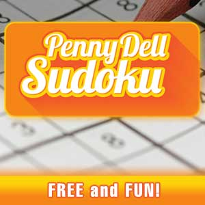 Raw Story's online Penny Dell Sudoku game