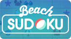Beach Sudoku: Sudoku - now on the beach!
