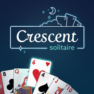 Freedoms Back's online Crescent Solitaire game