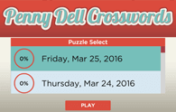 Penny Dell Crosswords