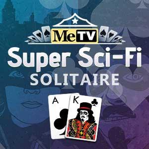 MeTV's online MeTV's Super Sci-Fi Solitaire game