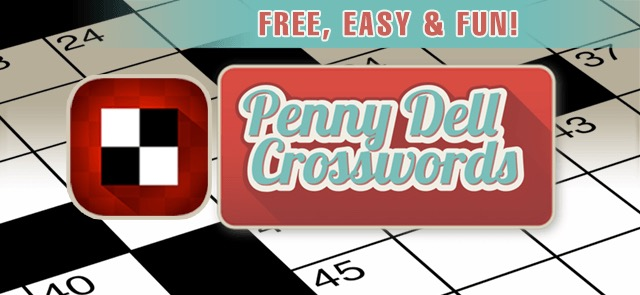 Puzzles Palace's free Penny Dell Crosswords game