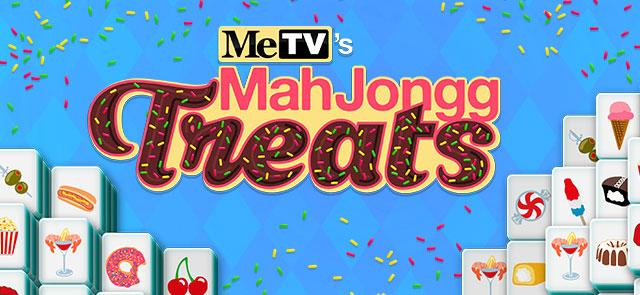 MeTV's free MeTV's MahJongg Treats game