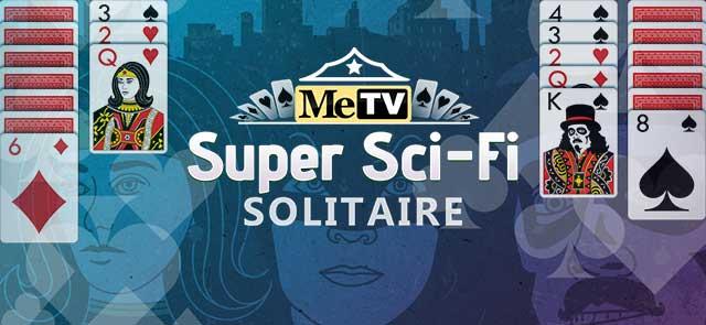 MeTV's free MeTV's Super Sci-Fi Solitaire game
