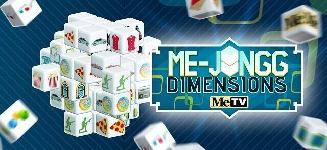 MeTV's free Me-jongg Dimensions game