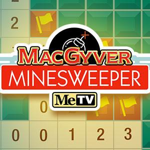 MeTV's online Minesweeper game