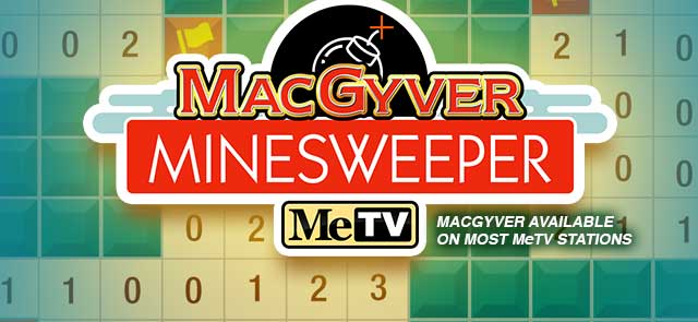 MeTV's free Minesweeper game