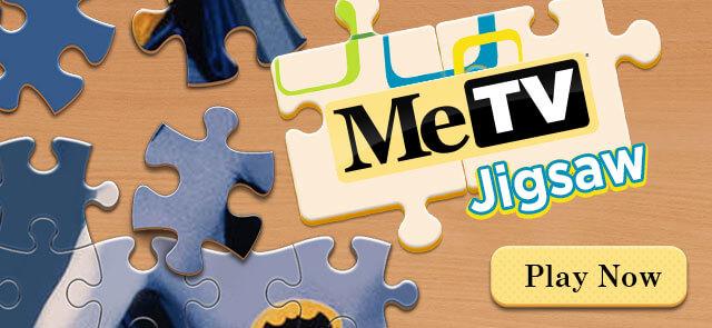 MeTV's free MeTV Jigsaw Puzzle game