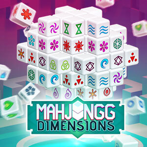Readers Digest's online Mahjongg Dimensions game